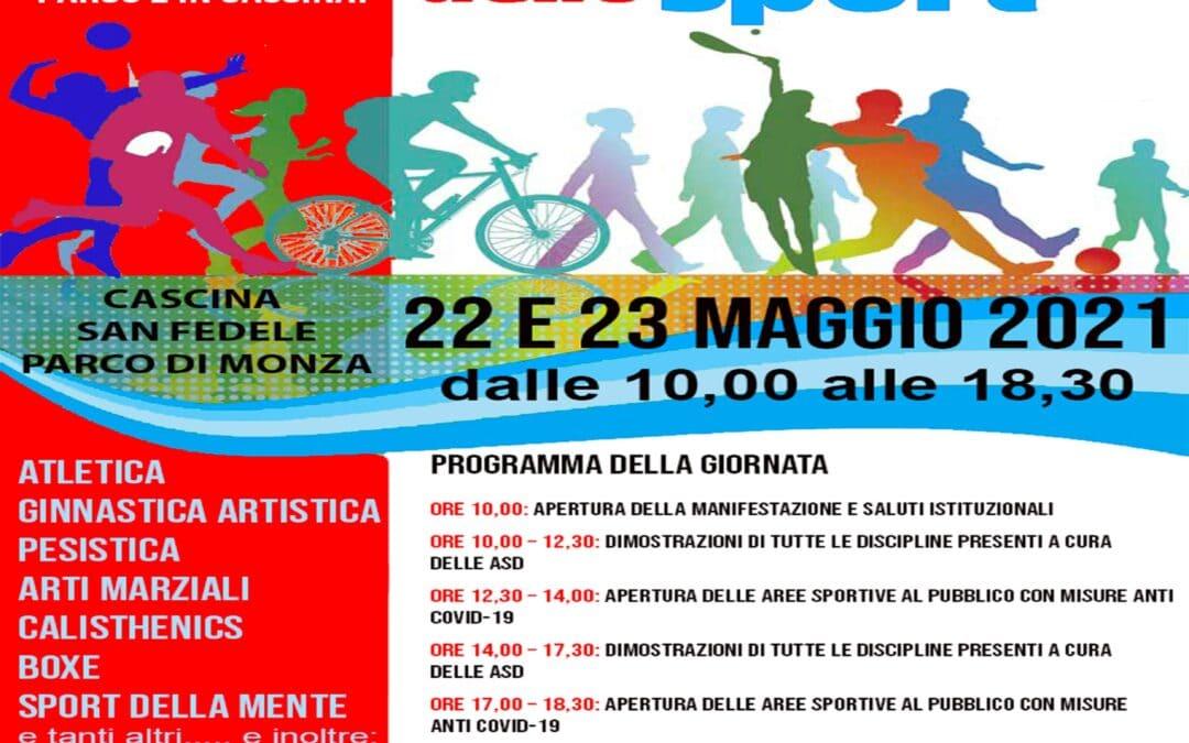 Festa dello Sport 22 e 23 Maggio 2021